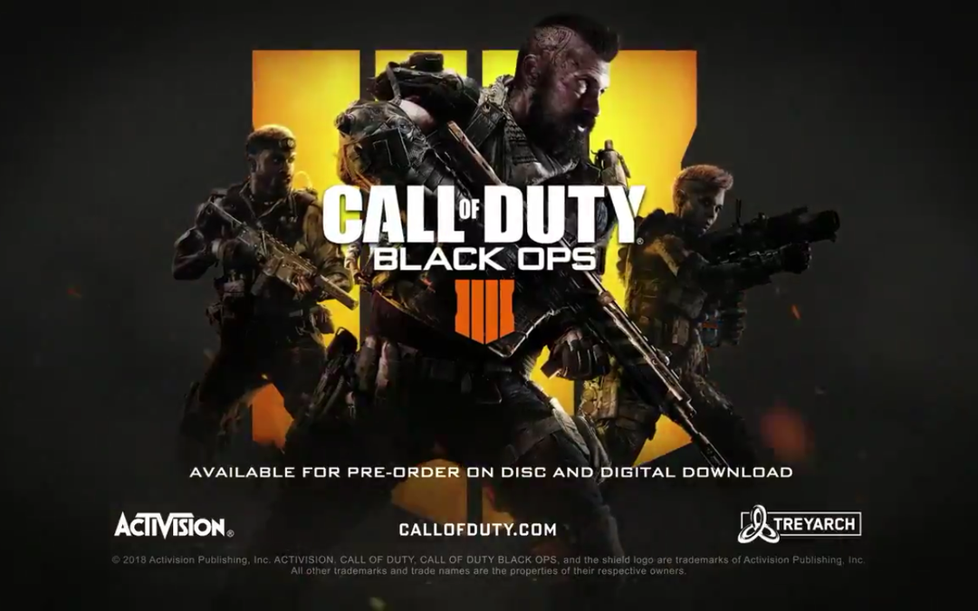 Call of Duty: Black Ops 4 presentado sin campaña y con modo Battle Royale
