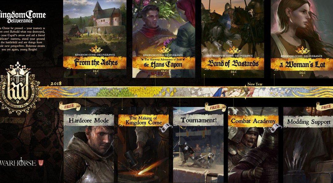 El medievo de Kingdom Come Deliverance se amplía con nuevos contenidos