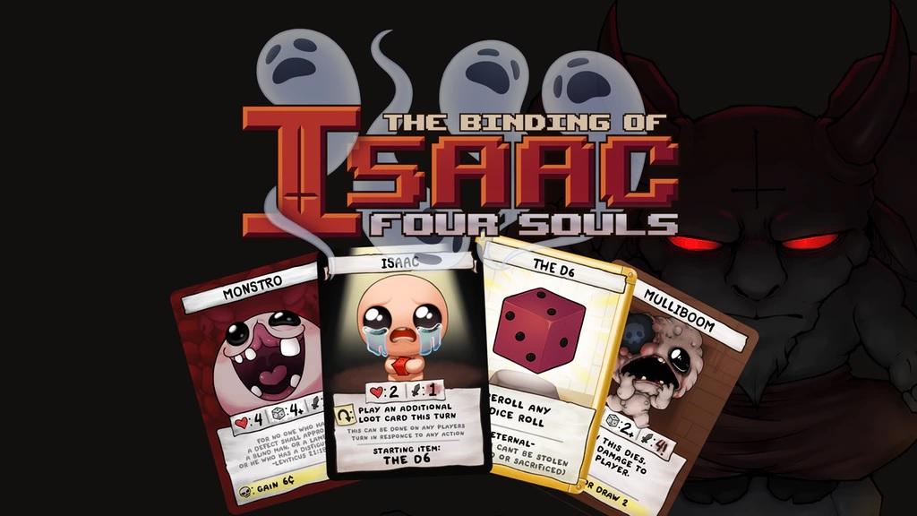 The Binding of Isaac: Four Souls, el juego de cartas de Edmund McMillen