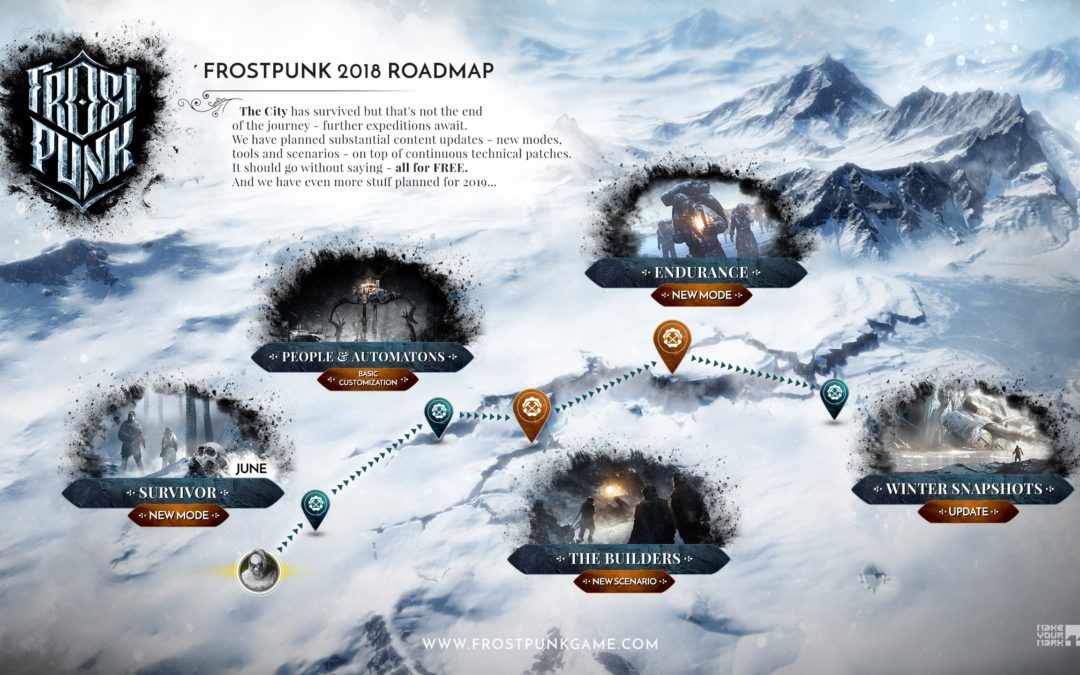 Frostpunk recibirá próximamente nuevos modos de juego