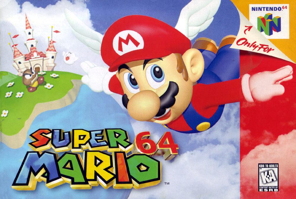 Un poco de retro con la presentación de Super Mario 64 en E3