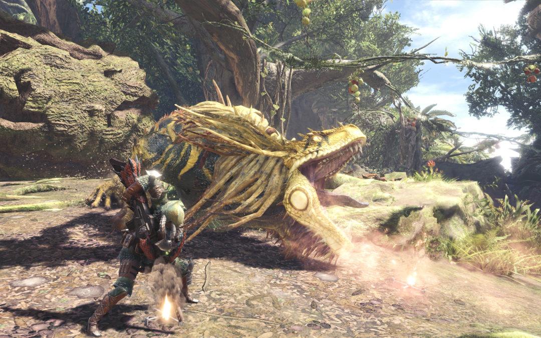 Monster Hunter World vende 8,3 millones de unidades, y en Capcom lo celebran
