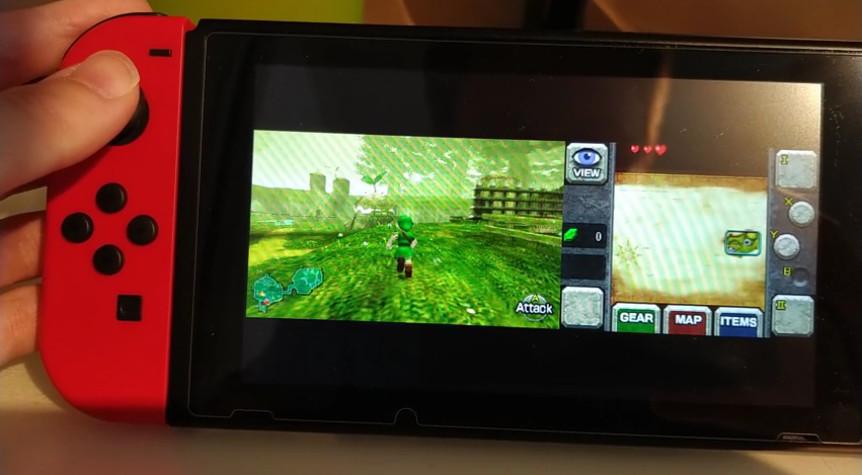 Hackers consiguen que los juegos de 3DS funcionen en Nintendo Switch