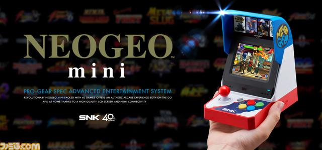 Unboxing de la Neo Geo Mini