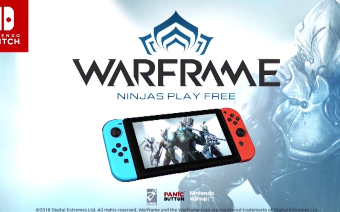 Warframe de camino a Nintendo Switch