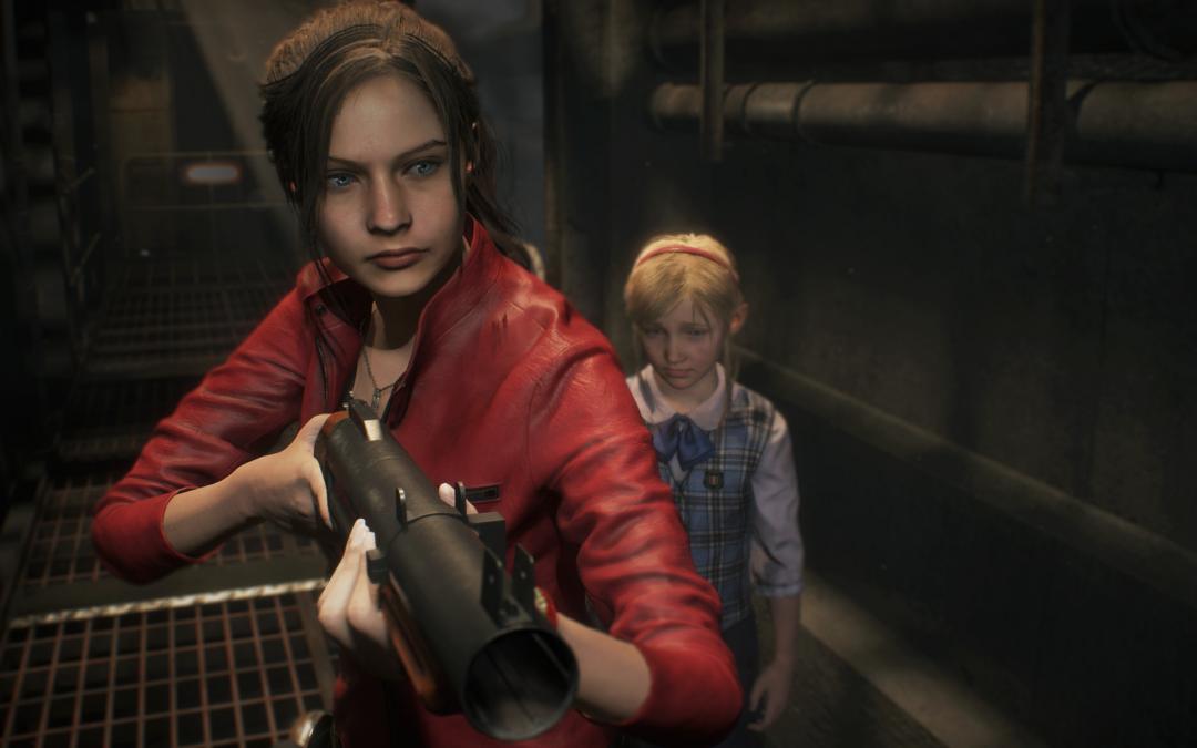 Claire Redfield aparece en Resident Evil 2