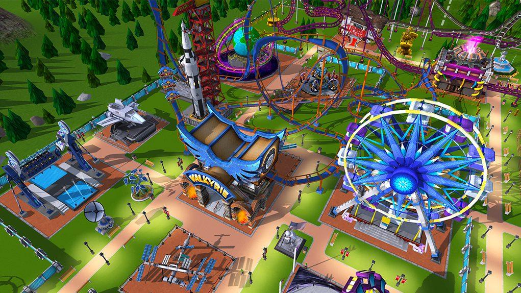 Rollercoaster Tycoon Adventures ocupará 4 GB en Nintendo Switch