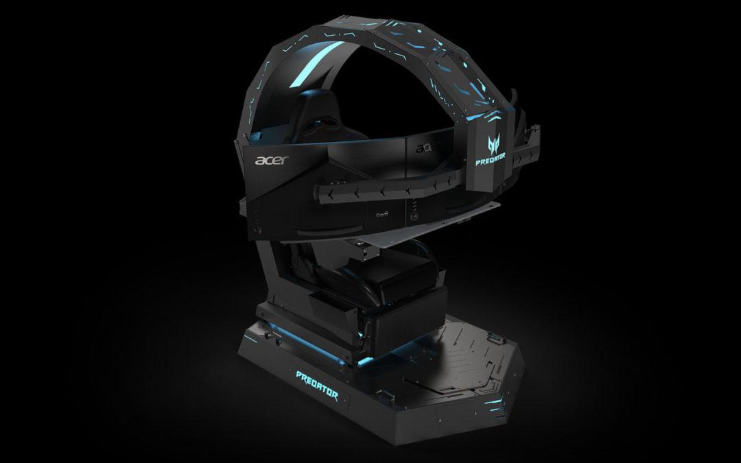 Presentada en la IFA la nueva Acer Predator Thronos