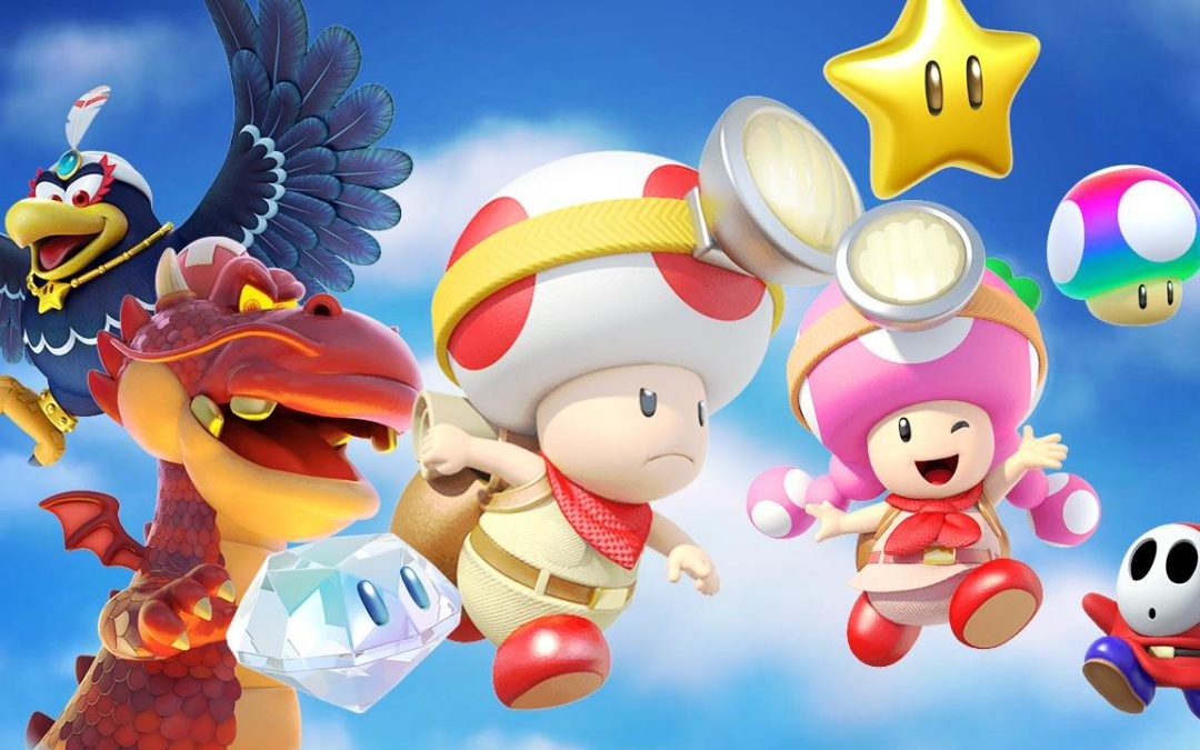 Captain Toad: Treasure Tracker y la reconversión de un Zelda