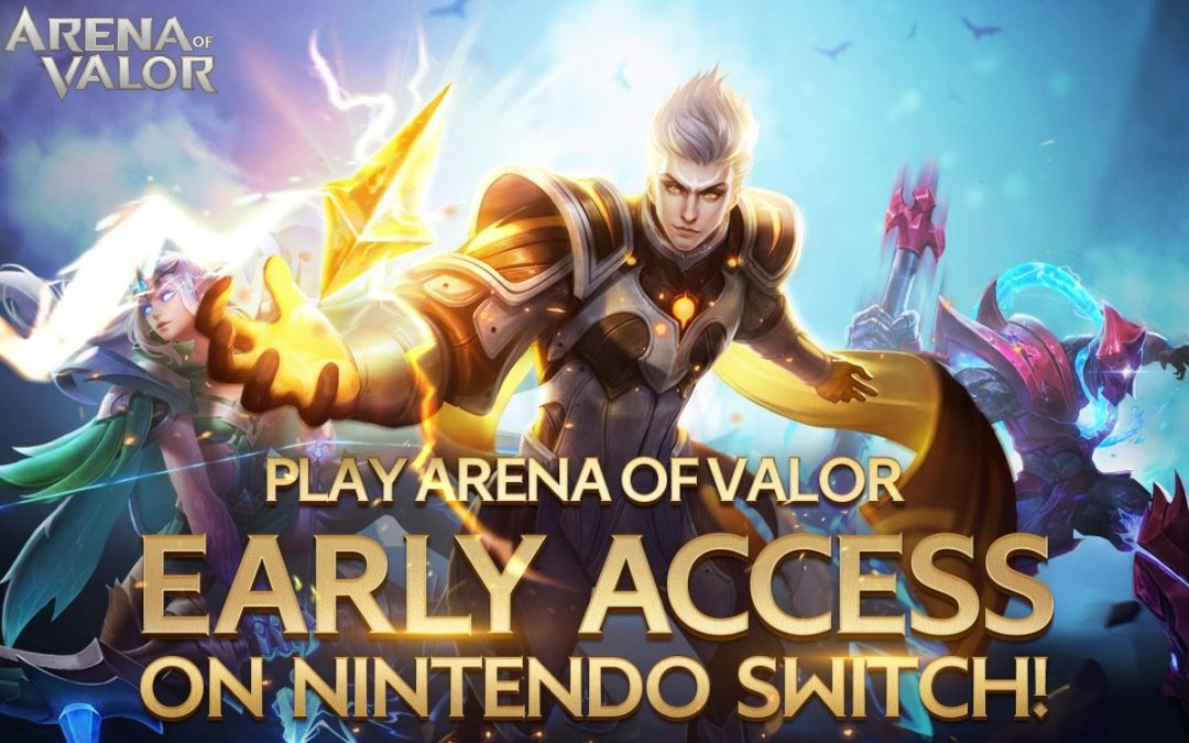 Tencent comienza a enviar los códigos para el Early Access de Arena of Valor en Nintendo Switch