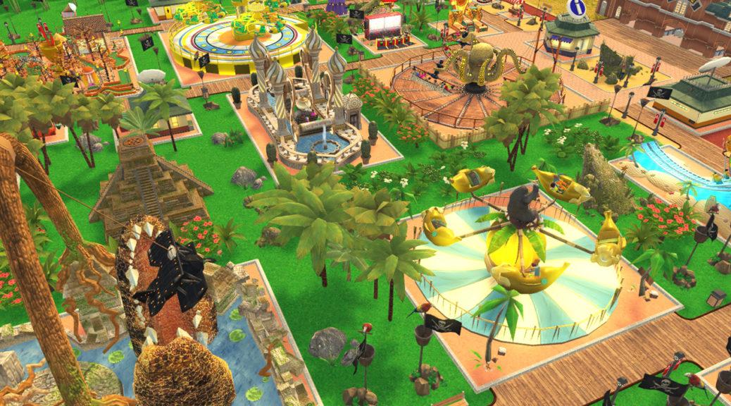 RollerCoaster Tycoon Adventures ya es gold, se podrá comprar próximamente