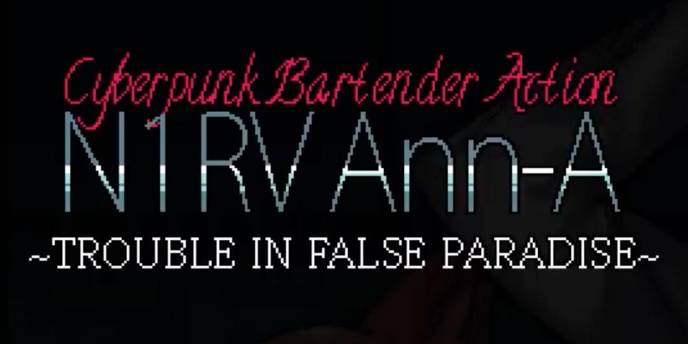Trailer de presentación de N1RV Ann-A, la secuela de  VA-11 HALL-A