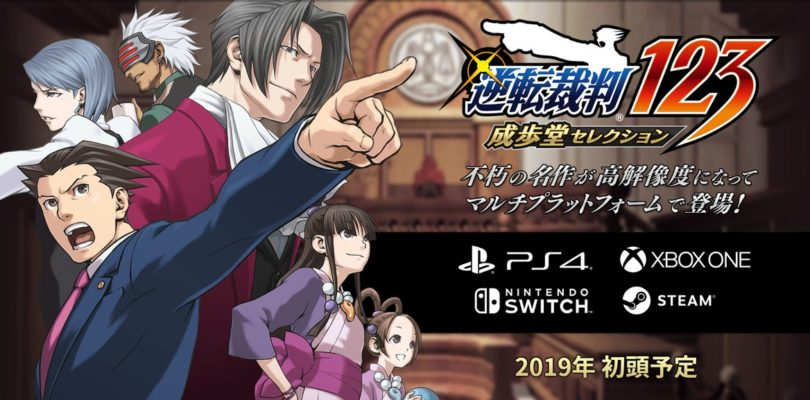 Phoenix Wright: Ace Attorney Trilogy disponible a principios de 2019 en PS4, One, Switch y PC