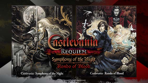Castlevania Requiem: Symphony of the Night & Rondo of Blood anunciado para PS4