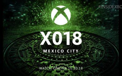 Microsoft: Conferencia X0 en noviembre, pack de One y Fortnite, y soporte teclado-ratón en One