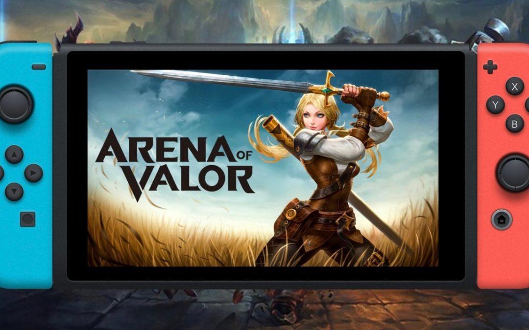 Arena of Valor para Nintendo Switch se prepara para recibir una actualización
