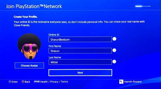 Se confirma la función que nos permitirá cambiar el nombre en PlayStation Network