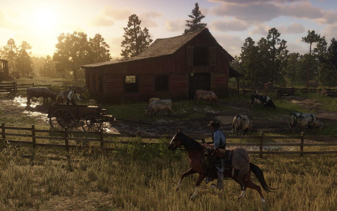 Red Dead Redemption 2 tendrá 4K nativo y HDR en Xbox One X