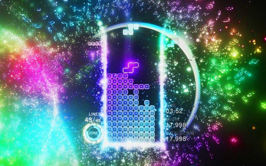 Impresiones Tetris Effect (MGW 18)