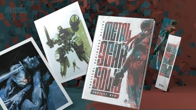 Metal Gear Solid: Project Rex, novela gráfica, a la venta el 23 de noviembre