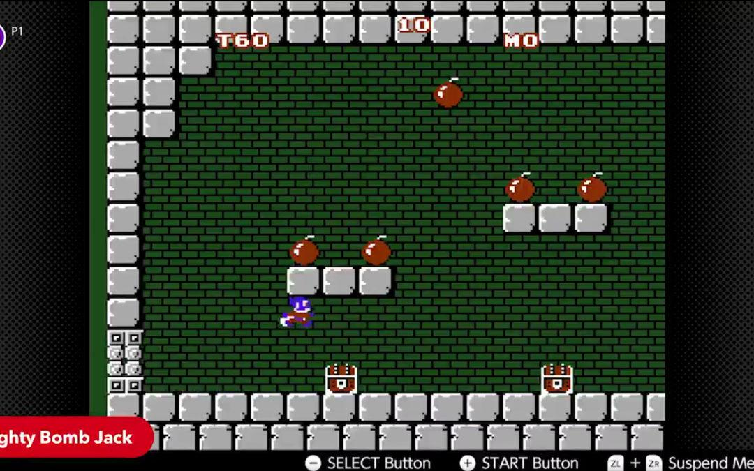 Nuevos juegos de NES en Nintendo Switch Online: Metroid, Mighty Bomb Jack, TwinBee…