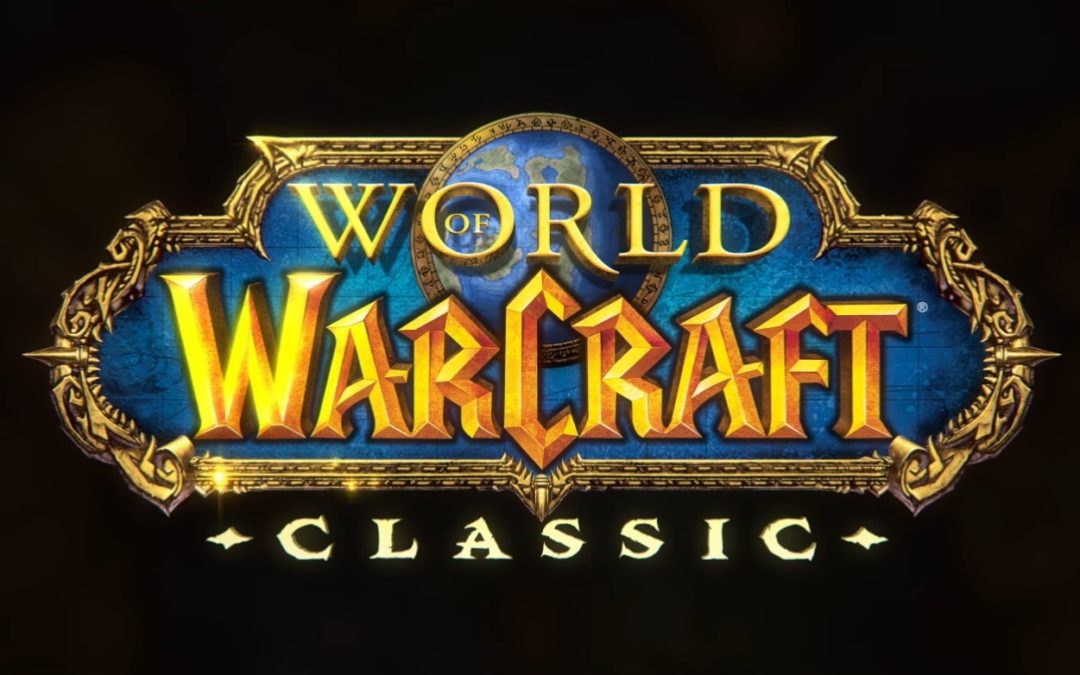 World of Warcraft Classic disponible en verano de 2019